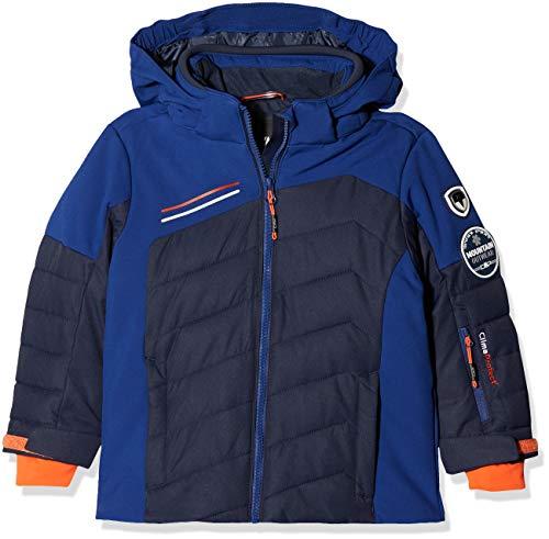 CMP Jungen Skijacke Jacke, Black Blue, 152
