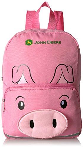 John Deere Kids Boys Girls Toddler Backpack, LIGHT PINK, One Size
