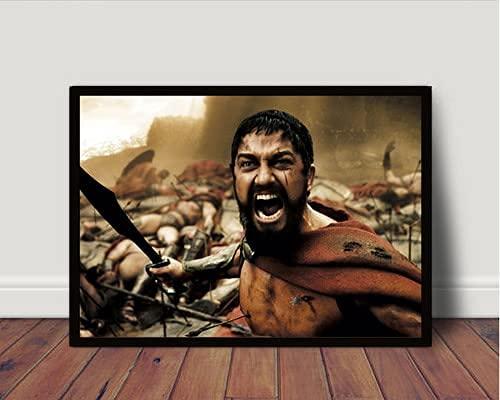 Quadro/Poster Com Moldura 300 Esparta Leonidas P4984