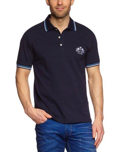 OTTO KERN Herren Poloshirt Regular Fit 35021/43024, Gr. 50 (M), Blau (300)