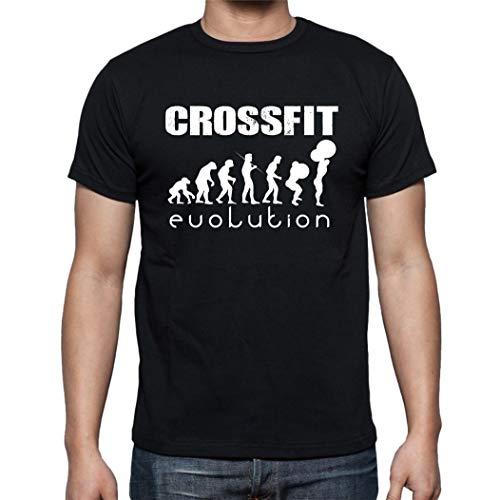The Fan Tee Camiseta de Hombre Crossfit Deporte Gimnasio Gym Pesas 016...