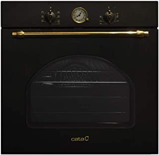 CATA | Horno Multifunción 8 Funciones | Horno Modelo MRA 7108 BK | Capacidad Interior de 60 litros | Rango de temperatura 50º-250º | Sistema de limpieza AquaSmart | Clase de eficiencia energética: A