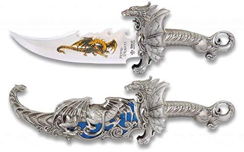 Cuchillo de decoración Tole10 Coleccion Funda Total 39Coleccionismo o