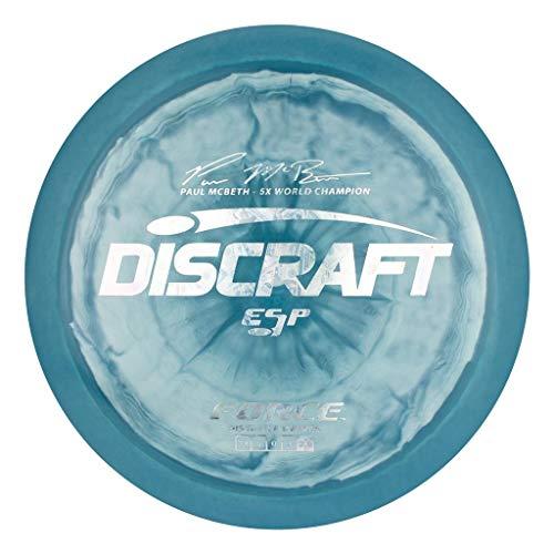 Discraft Limited Edition Paul McBeth Signature ESP Force Distance Driver