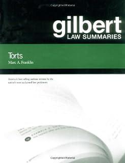 Gilbert Law Summ on Torts 23d