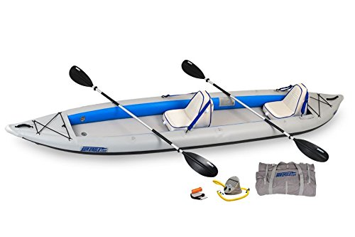 Sea Eagle 465 FastTrack Inflatable Kayak Deluxe 2 Person Package