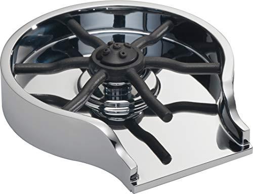 DELTA Glass Rinser for Kitchen Sinks, Kitchen Sink Accessories, Bar Glass Rinser, Chrome GR150