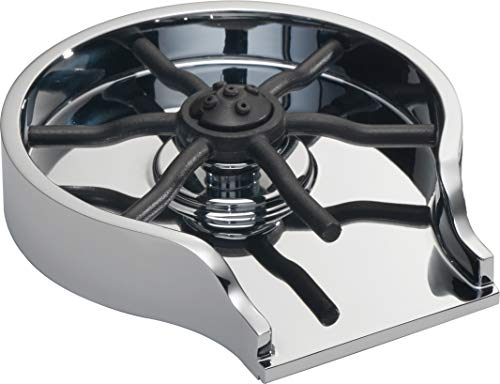 Delta Faucet Glass Rinser for Kitchen Sinks, Chrome Finish - $89.01 Shipped