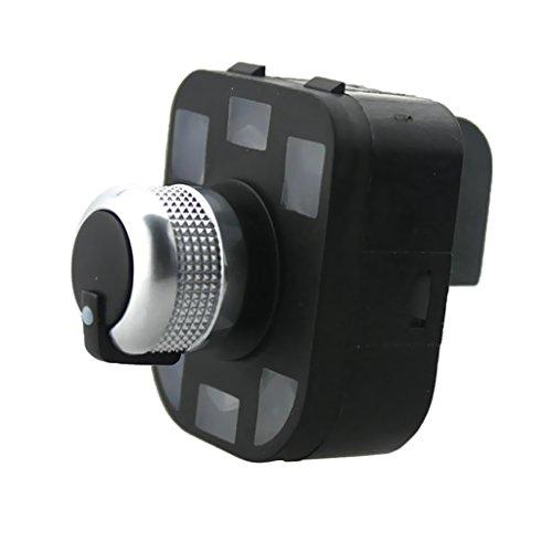 B Blesiya Interruptor de Ajuste de Espejo de Repuesto, Pieza de Reparación para La Mayoría de Automóviles Y Vehículos de Motor