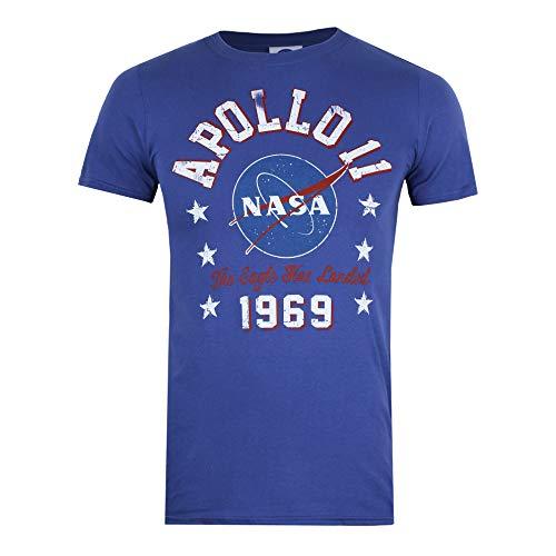 Nasa 1969 Camiseta, Metro Blue, Small para Hombre