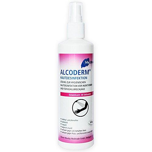 Alcoderm® Hände- und Hautdesinfektionsspray 250ml, für Desinfektion der Haut vor Injektionen und medizinischen Behandlungen