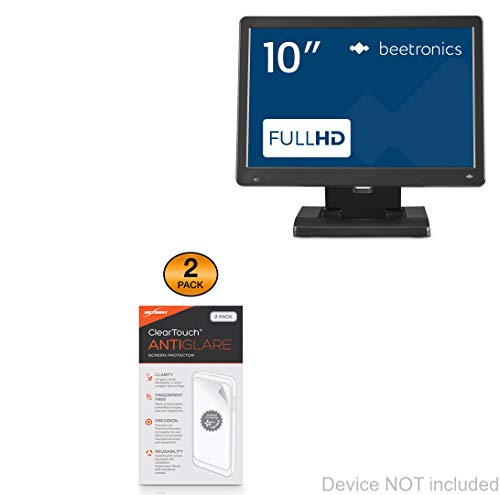 Find Bargain Beetronics 10HD6 Screen Protector, BoxWave [ClearTouch Anti-Glare (2-Pack)] Anti-Finger...