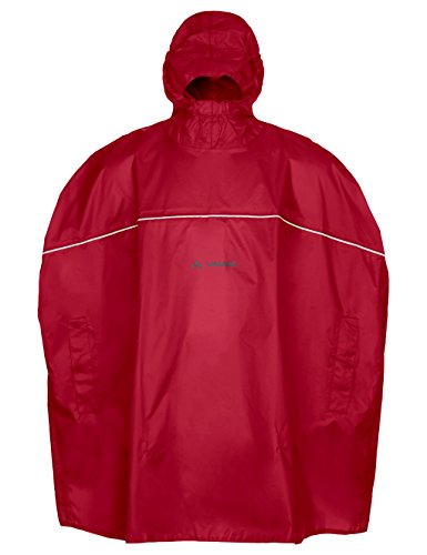 VAUDE Kinder Grody Poncho, Indian red, S