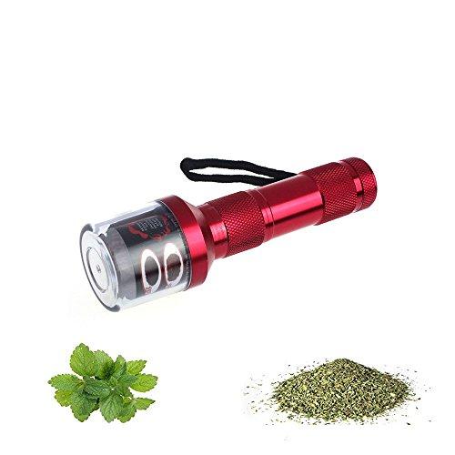 Elektro Grinder Pollen Grinder Crusher für Tabak, Spice, Kräuter, Gewürze, Herb Zinklegierung Kräutermühle Nicht inkl. Batterie