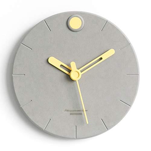 MANLADA-1 Reloj de Pared Redonda, Reloj de Pared Simple Moderna Ocho Estilos de Puntero Reloj de Pared Reloj de Pared de Silencio Cincuenta (Color : B, Size : 29 * 29CM)