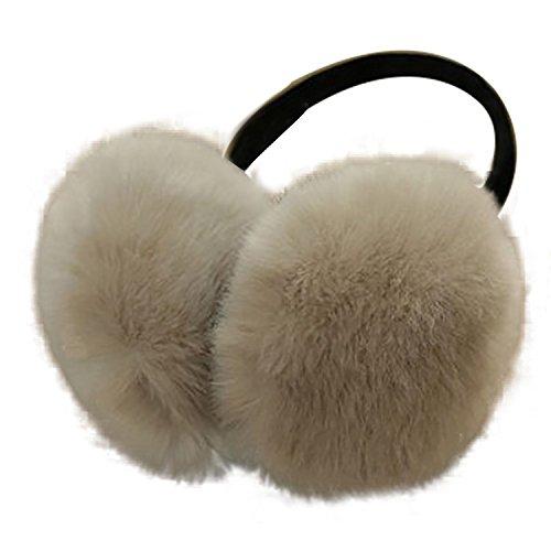 Naisidier – Orejeras para mujer y niña, materiales de terciopelo para invierno, ligeros y blandos, diseño sencillo
