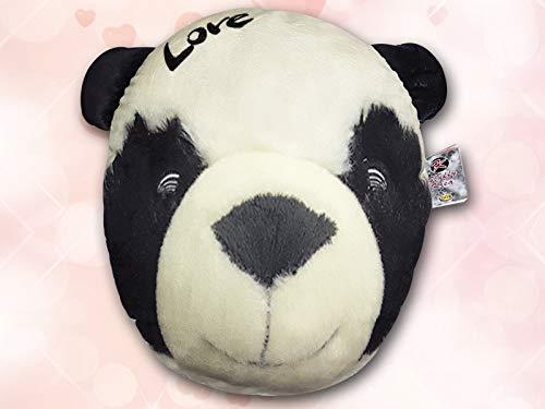 Dor Cuscino/Peluche San Valentino a Forma di Panda Maxi - Dimensione 42x48cm - San Valentino - Animali, Cuscini e Pupazzi - Festa degli Innamorati - Giocattoli Bambini