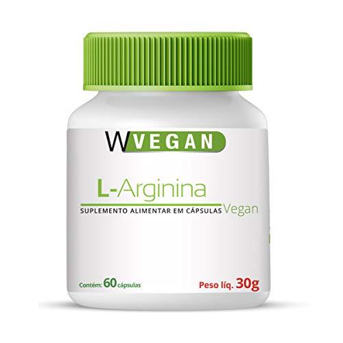 L Arginina L-Arginina 500mg 60 capsulas Vegan WVegan
