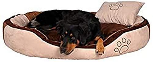 Trixie 37721 Bett Bonzo, 60 × 50 cm, beige/braun