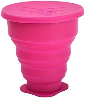 メルーナカップのお掃除 折りたたみ式 洗浄カップ 選べる6色 (ローズ)