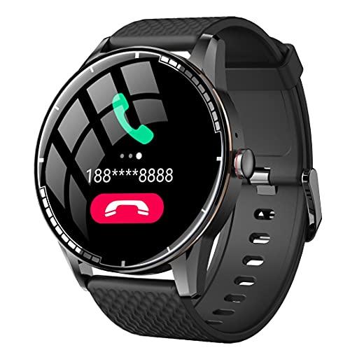 ZGZYL H6 Bluetooth Smart Watch 3D Alta Definición Calidad De Sonido Reloj Deportivo con Oxígeno De Sangre, Presión Arterial Y Monitor De Frecuencia Cardíaca,B