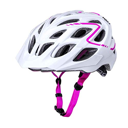 Kali Chakra Plus Helm matt weiß/pink Kopfumfang 58-62cm 2019 Fahrradhelm