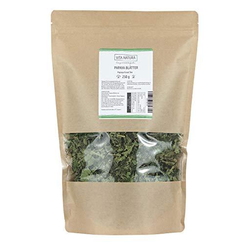 Vita Natura Papayablätter Tee, Papayakraut, 1er Pack (1 x 250 g)