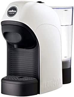 Lavazza A Modo Mio Tiny Capsule Coffee Machine, White, 18000201
