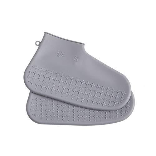 Yongqin Fundas Para Zapatos Impermeables Unisex Reutilizables Fundas Para Zapatos De Silicona Calidad Para Exteriores Antideslizantes Impermeables Botas De Lluvia Gruesas Cubrezapatos Protec