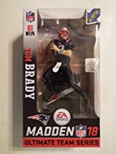 Toys Madden NFL 18 Ultimate Team - New England Patriots Tom Brady Color Rush Variant Chase Exclusive Action Figure