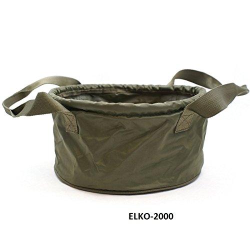 ELKO-2000 Futtertasche Angeleimer Falteimer ideal zum Futtermixen und Boilies