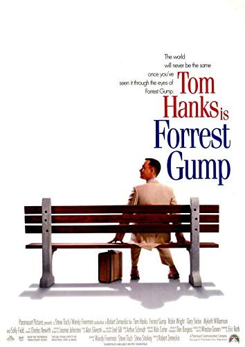 Poster Affiche Forrest Gump Classic 90s Movie