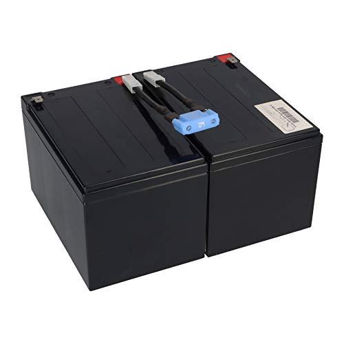 WSB Battery Ersatzakku USV RBC6 RBC 6 BK1250, BP1000I, BP1400, SMC1500I, SMT1000i, SU1000I, SU1000IBX120, SU1000INET, SU1000NET, SU1000RMI, SU1000RMINET, SU1000VS, SU700X167, SUA1000I, SUVS1000I