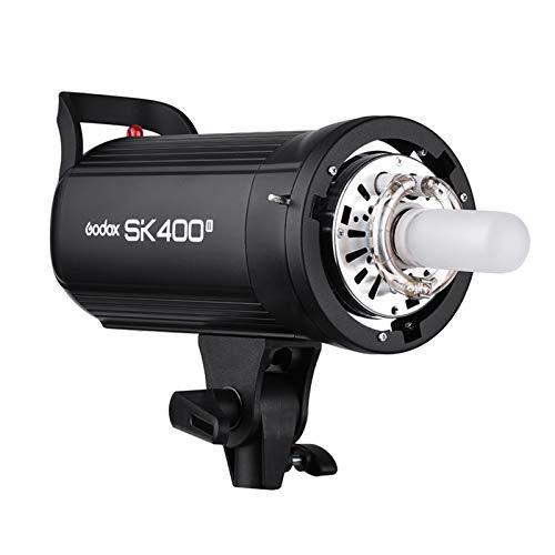 GODOX SK400II 400Ws Studio-Blitzlicht Eingebautes 2.4G Wireless X-System GN65 5600K mit 150W Modellierlampe