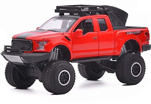 GYXY 1:32 para la aleación de Jeep Modelos de fundición de la aleación Sonido y Luces Pullback to-ys Auto Vehículo SUV Coleccionables Coches de Juguete de Regalo para niños (Color : 2)