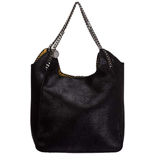Stella McCartney borsa a spalla Falabella scoop donna nero