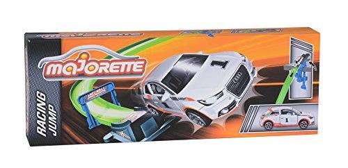 Majorette 212084241 - Majorette Racing Jump, Startrampe inklusive Auto, Auto 7,5 cm