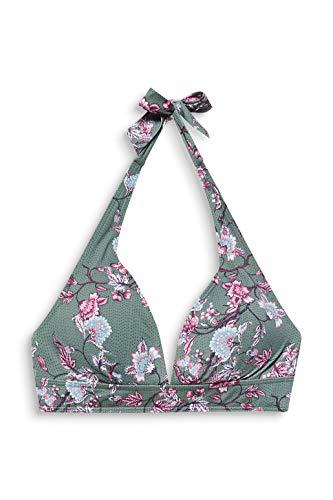 ESPRIT BILGOLA BEACH pad.halternack Bikini, Damen, Grün 40 C