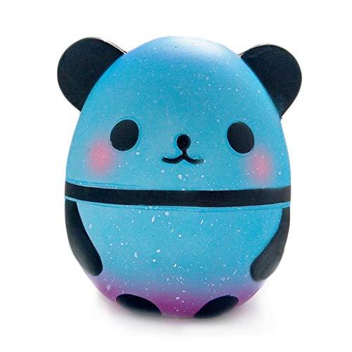 ZJL220 Panda Egg Lento Rising Kawaii Perfumado Suave Animal Squishies Divertido Bebé Juguetes