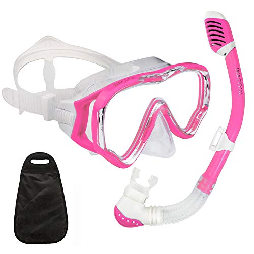 WACOOL Snorkeling Snorkel Package Set