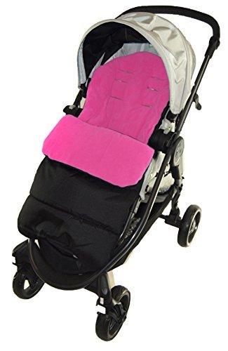 Fußsack/COSY TOES kompatibel mit Jane Crosswalk Kinderwagen pink rose