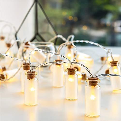 Kleine Flasche Lichterketten, Lichterketten, Dekorative Leuchten Für Schlafzimmer, Wohnzimmer, Weihnachten, Hochzeit, Party, Innen Und Außen