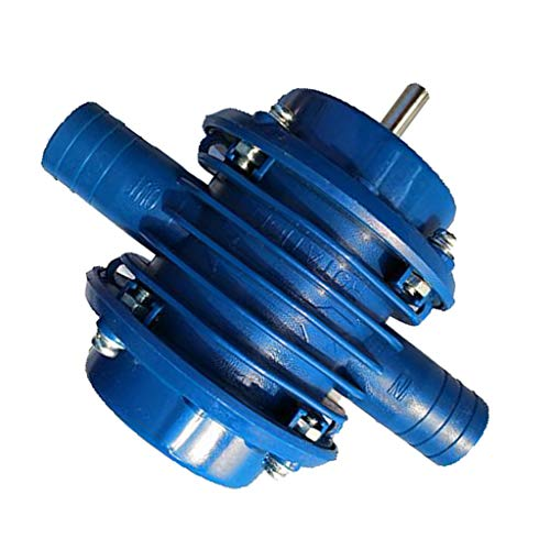 Professional Bohrmaschinenpumpe Bohrmaschinen Pumpe Wasserpumpe Schlauchpumpe Vorsatzpumpe aus Stahl