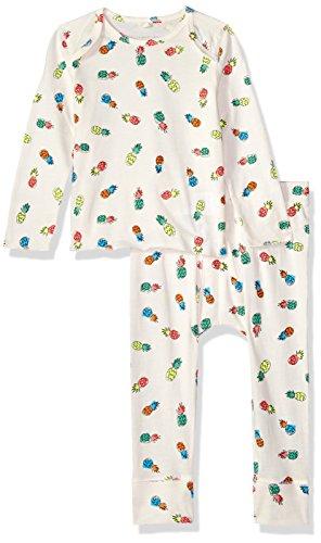 Stella McCartney Kids Baby Girls' Buster+macy Pineapple Print 2pc Set, Off Off White, 6M