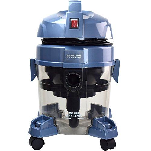 Syntrox Germany WVC-2400W Okeanos Aspirapolvere con Filtro acqua aspiratore a secco/umido