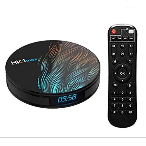 ZJ 6K 2.4G / 4GHZ WiFi Android 10.0 Google Quad Core Smart TV Box Media Player 16GB 32GB 64GB HD Network TV decodificador(Color:4GB+64GB)