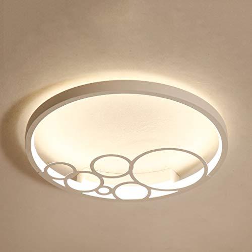 YANQING Duurzame Kroonluchters Wit Elegante LED Children's Slaapkamer Plafond Lamp, 32 W Bubble Vorm Meisje Kamer Eye-Care Kroonluchters Hanger Verlichting (Kleur : Wit Licht), Kleur: Warm Licht
