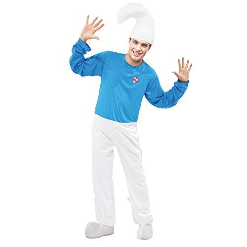 Disfraz Duende Azul para Hombre (L)
