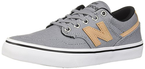 New Balance Men's 331v1 Skate Shoe, Grey/White, 6 D US