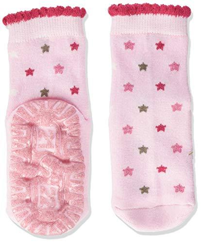 Sterntaler Baby Mädchen Sterntaler Glitzer-flitzer Air Sterne Socks, Rosa, 22 EU